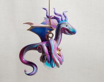 Sugarplum Little Dragon Ornament