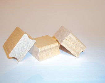 Stamping wood, school stamp, up to 100 cm2