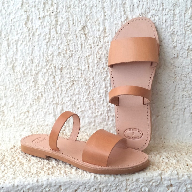 4ae46ac984f9 Greek leather Sandals Women Men handmade strappy slingback