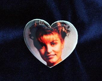 Laura Palmer Brooch, Twin Peaks Brooch, Twin Peaks Pin