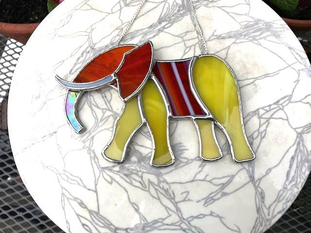 Elephant Lover Birthday Gift Window Ornament Wall Decoration Gallery Photo
