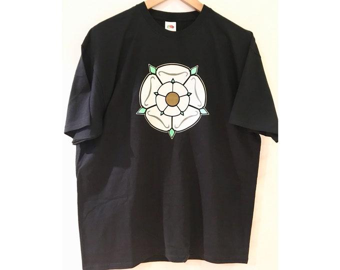 Black Printed Yorkshire Tee