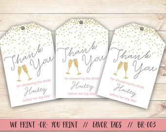 bridal shower favor tag pop fizz clink bridal shower bridal shower gift tag confetti bridal shower gift tag bridal shower thank you