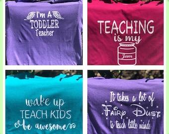 Fun Teacher Shirts