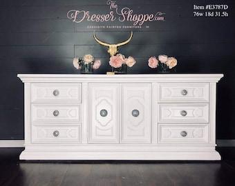 White Dresser Etsy