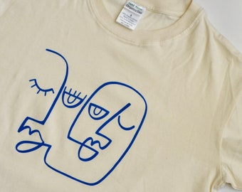 a81bcd555212c Screen printed tee   Etsy