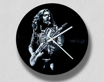Rory Gallagher, Tattoo (1973), vinyl clock,gift for women, gift for men, wall clock large, modern, vintage, gift ideas
