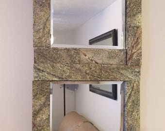 Granite Trimmed Mirror