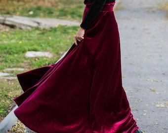 d3b1651608786 Velvet skirt