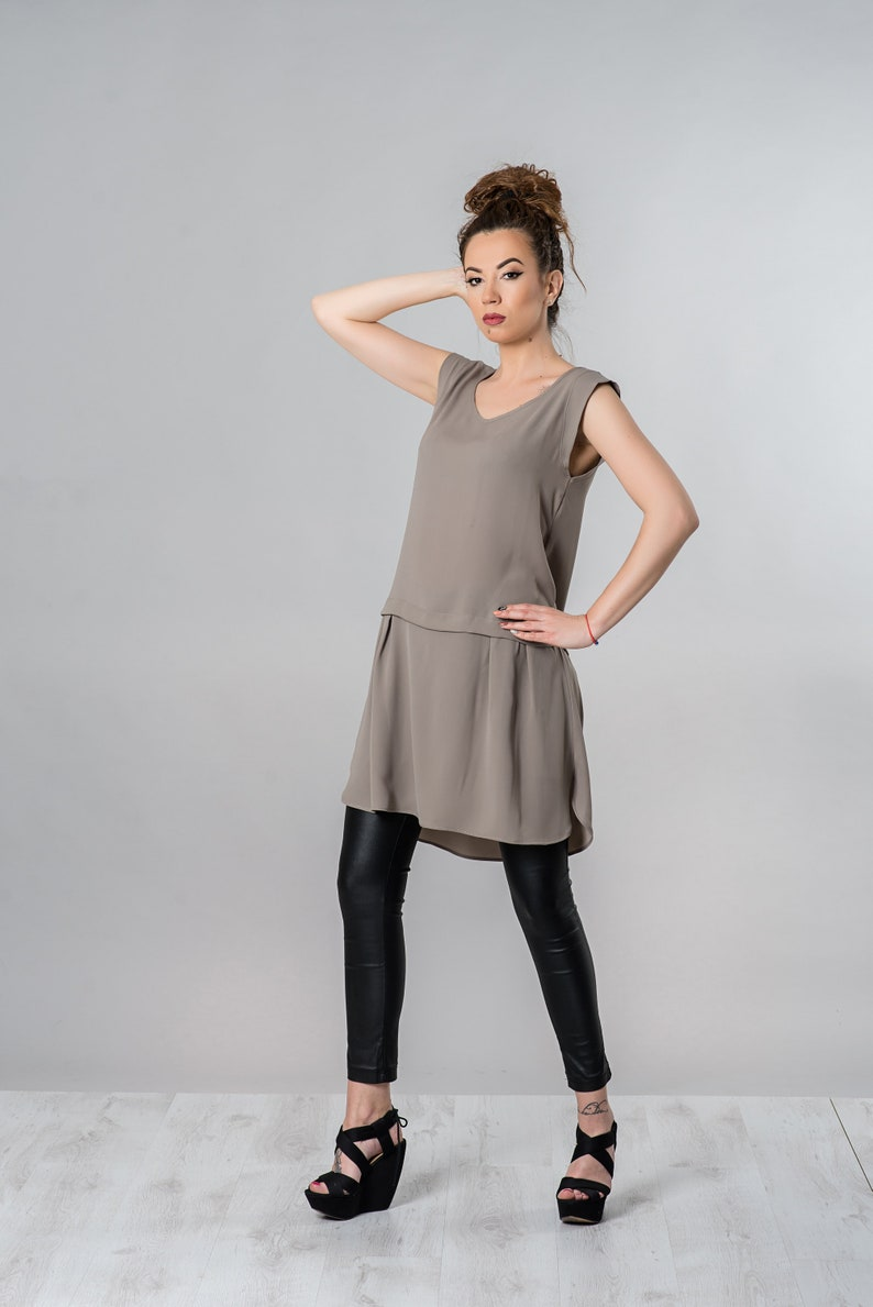 Beige Dress Short Dress Summer Dress Plus Size Dress   Etsy
