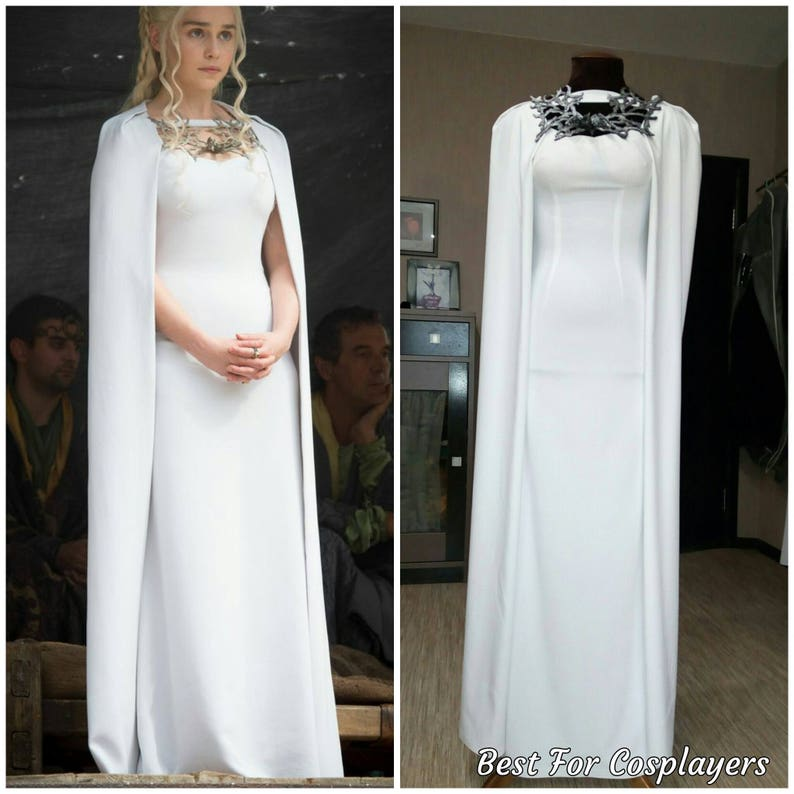 Daenerys Targaryen Dress, Game of Thrones, Cosplay Costume