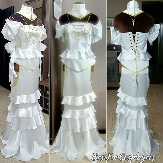 OverLord anime Albedo Dress Cosplay Dress Cosplay Costume | Etsy