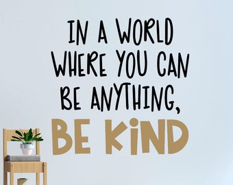 Kindness Quote Etsy