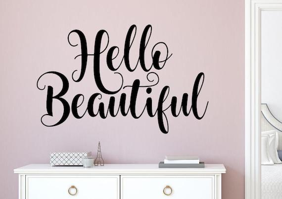 Ser su propio tipo de hermoso cuarto de baño Art pegatinas de pared citar Wall Decals