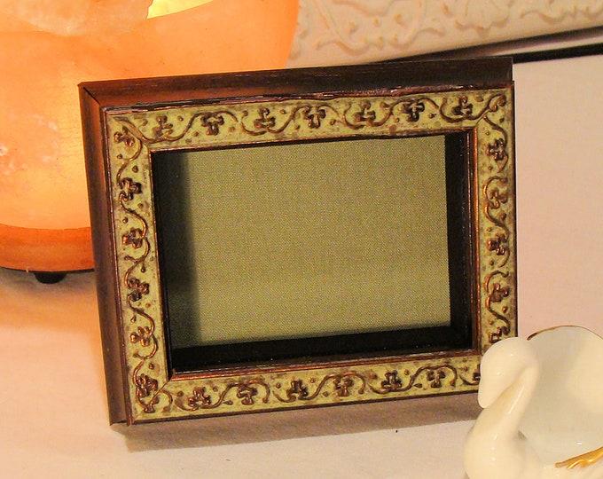 "ACEO Shadow Box Keepsake Picture Frames 5/8"""" Deep  2.5 x 3.5"" Image Area, Museum Glass, Display Miniature Tiny Treasures, Choose Mat Color"