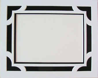 Picture Framing Mat Great for Documents Double Layer Matting Choose Size, Colors Archival Quality Acid & Lignin Free / Art Photos Documents