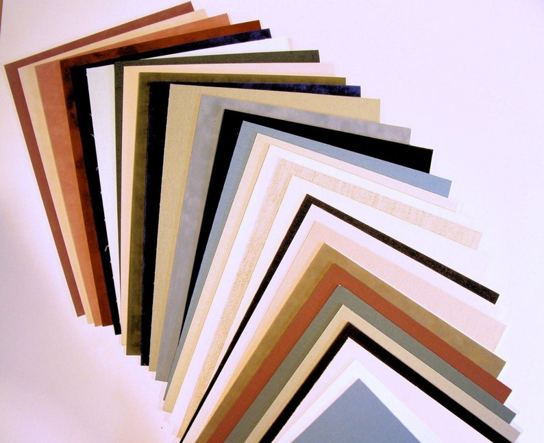 Fabric Mat Board Matting Blanks for Picture Framing Art Photos image 0