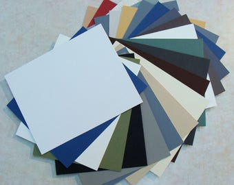 Mat Board Matting Blanks for Picture Framing Art Crafts or Photos 6 Pieces Color Variety Archival Quality Mats Choose Size