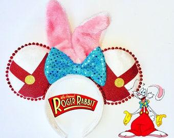 Roger Rabbit, Rodger Rabbit ears,Mouse ears, Mickey ears, rabbit ears,