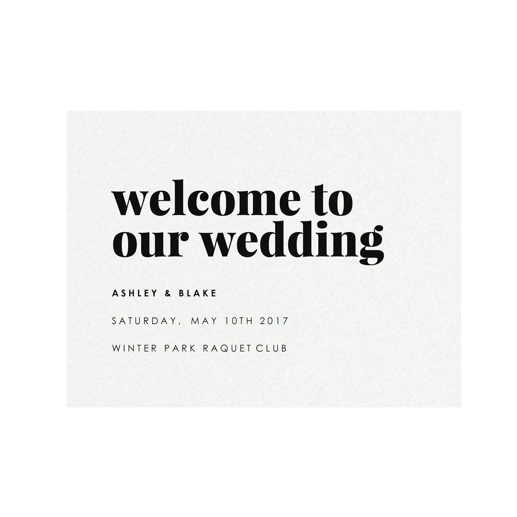 Fairfax: 18x24 Welcome Sign Template, Event Welcome, Modern Printable  Wedding Sign, Minimalist Reception, PDF Instant Download
