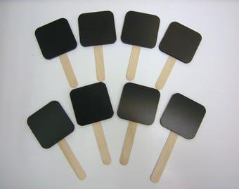 Chalkboard blackboard market stall advertising X8 - 8 Quantity handheld chalkboard