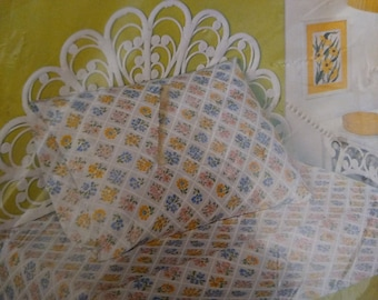 Bibb NIP New in package pair of Floral Trellis pillowcases
