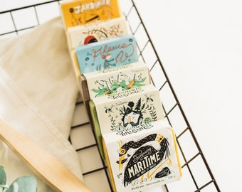 Dozen Soaps Mystery Box - 12 of our Legendary Natural Soap Bars! Surprise Assortment. Zero Waste, Deal, Promotion, Gift Pack,
