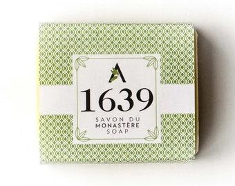 1639 SOAP - SAVON du Monastère des Augustines. Handcrafted, All-Natural Soap, Eco-Friendly, Zero Waste Soap, for a Non-Profit Organization