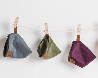EKO SOAP BAG. Zero Waste, Eko Nature Handcrafted Soap Bag.  Washable, Zero Waste & Plastic Free Soap Case. Travel Soap Bag, Pouch, Toiletry.