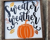 Halloween Decorative Fall Wooden Sign Autumn Decor Rustic Decor