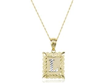 Gold Custom Initial