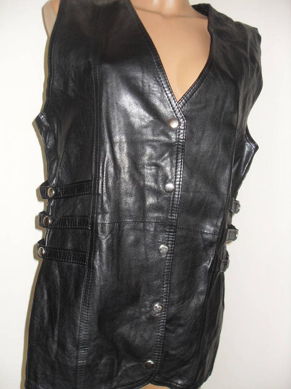 black leather jacket, cow leather for rockers