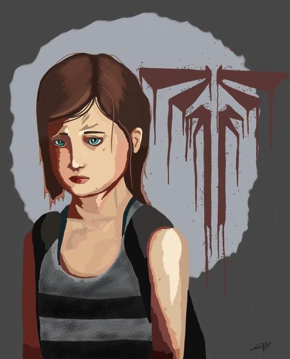 Ellie Last Of Us Print