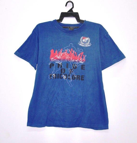 Vintage Japan League Yokohama F.Marinos Fan Shirt Sportswear Football Tshirt