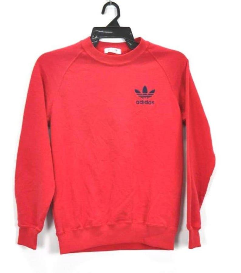 c7ac93ec9838 ADIDAS Sweatshirt Vintage 90 s Adidas Trefoil Sport Big