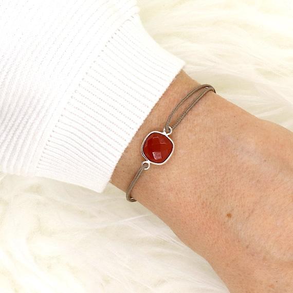 cornline stone bracelet set silver 925 for women