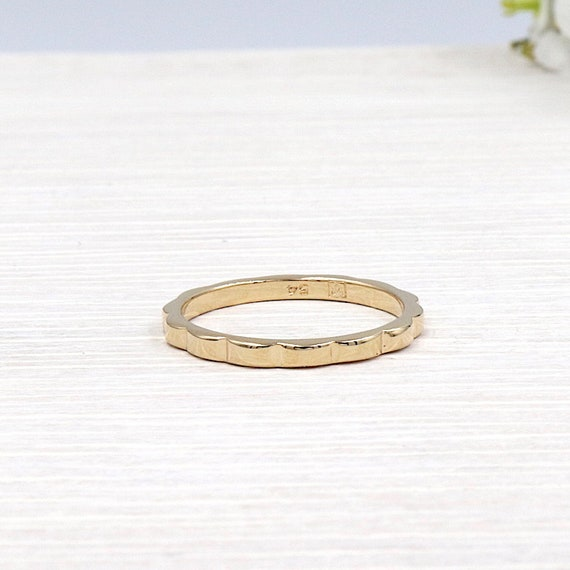 gold plated women rings waves