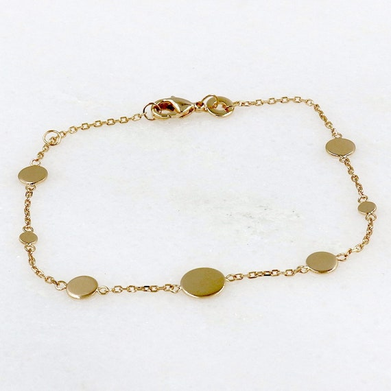 women's chain bracelet and gold-plated lozenges