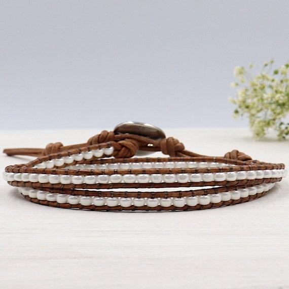 women wrap bracelet beads miyuki off twice