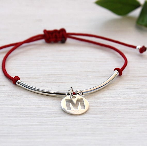 customizable cord bracelet medallions and silver junks 925