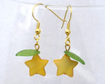 Paopu Fruit Earrings