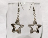 Christmas Cookie Cutter Earrings - Stars