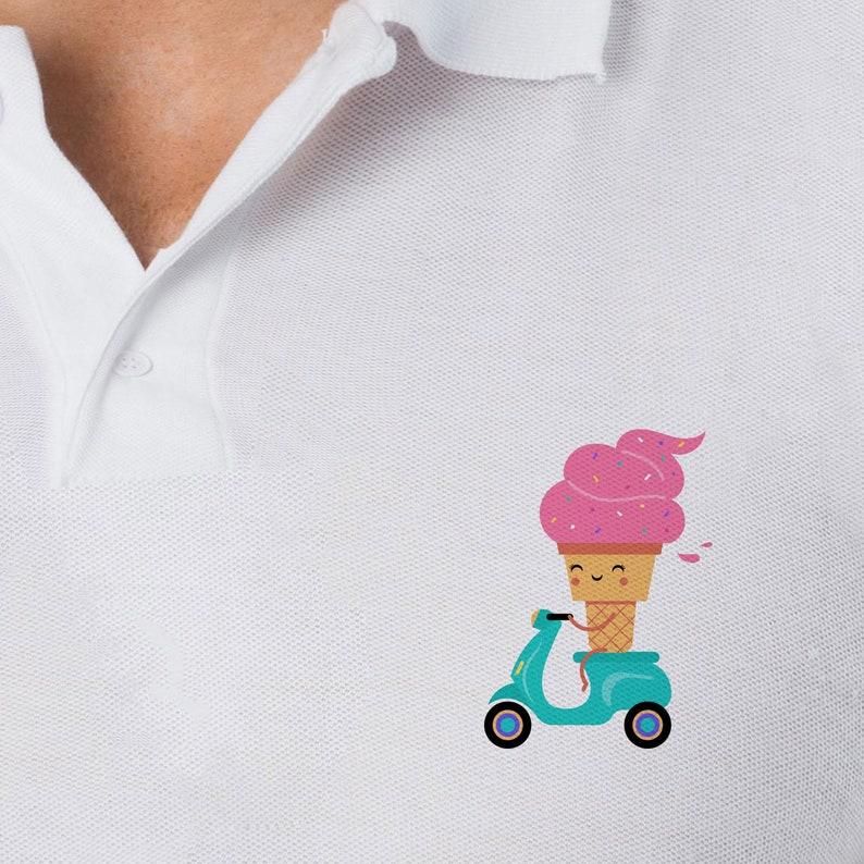 750f981114b Tumblr Clothing Polo Vegan T Shirt Comfy T-shirt Ice Cream
