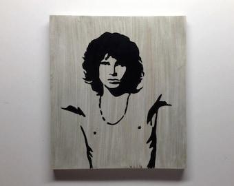 Jim Morrison Sign Custom Rustic