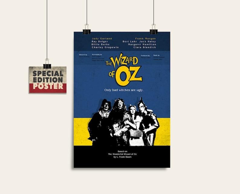 THE WIZARD OF OZ Alternative Minimal Movie Poster