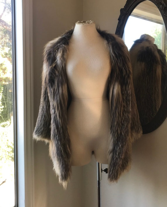 FOX Fur Jacket, Fur Coat, Sweater, Outwear, Women'