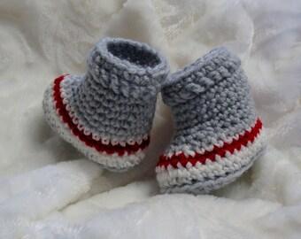 b220a7a5c9f54 PATRON PDF  37 Chaussons bas de laine au crochet pour bébés 0 à 12 mois