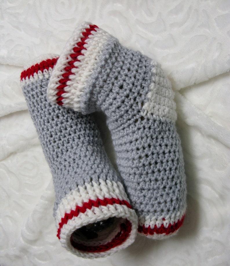 PATRON PDF 40 Bottillons bas de laine au crochet femmes image 0