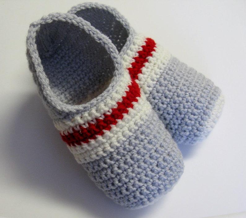 c4c89b0c08739 PATRON PDF No 31 Pantoufles bas de laine au crochet pour