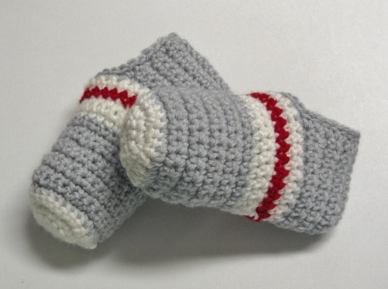 PATRON PDF 41 Pantoufles bas de laine au crochet pour enfants image 1
